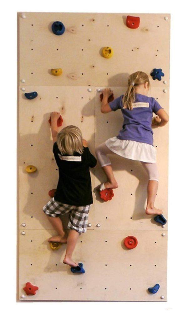 kletterwand f r kinderzimmer kaufen oder selber bauen sie haben die wahl. Black Bedroom Furniture Sets. Home Design Ideas